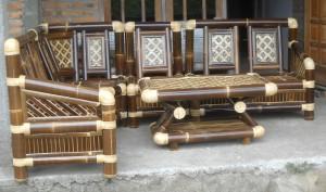 jual kerajinan bambu rumah saung gazebo dan furniture bambu
