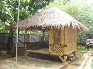 jasa pembuatan gazebo bambu di bekasi
