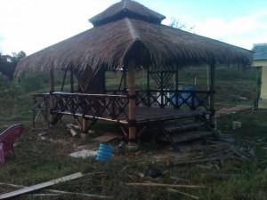 jasa pembuatan rumah bambu gazebo di banten