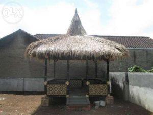 jasa pembuatan gazebo bambu dan furniture bambu di jakarta